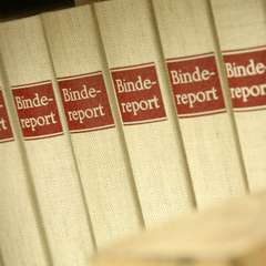 Bindereport fertig im Regal